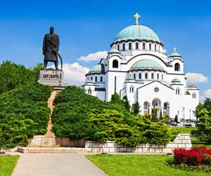 St. Sava Church in Belgrade, Serbia