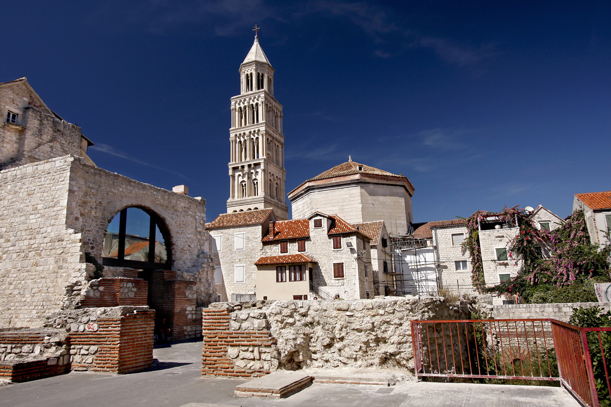 Split Diocletian Palace Split Attraction Adriatic Dmc