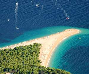 Golden Cape Beach, Island of Brac, Croatia
