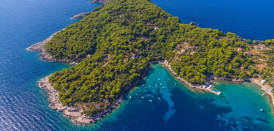 Kolocep Island Attractions Kalamota Adriatic Dmc