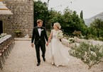 Newlyweds in Dubrovnik's Konavle region