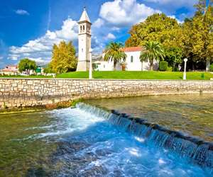 Town of Solin and Jadro river, Croatia
