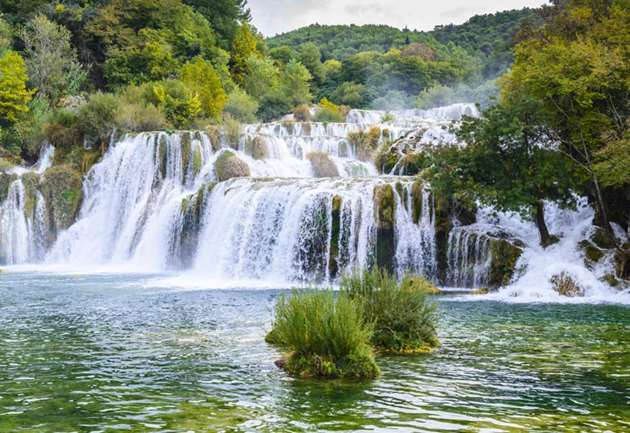 Krka National Park waterfalls, Croatia
