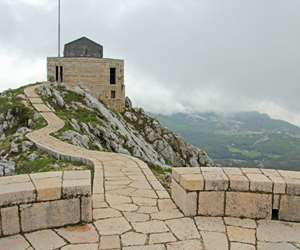 Mausoleum at Lovcen, Montenegro