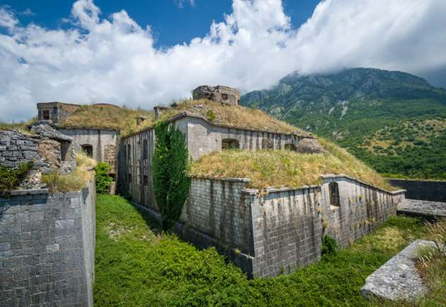Fortress at Lovcen, Montenegro