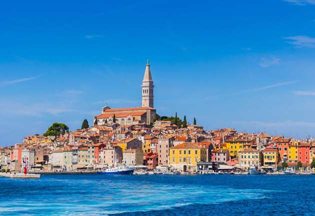 Rovinj in Istria, Croatia