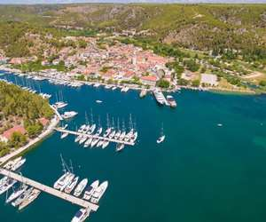 Skradin bay, Croatia