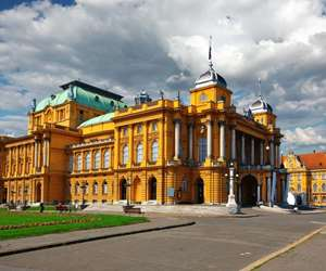 National Theater in Zagreb, Croatia